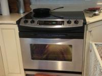 This is a GE Profile top of the line convection oven