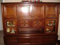 Cherry German Cabinet 85 (L) x 18 (W) x 69 (H) 2 parts