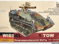 ARV Club German Wiesel Plastic Model Kit 1:35 scale