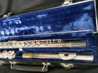 Here I have a used original Gerneinhardt Flute for sale