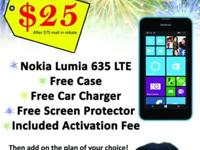 Get a free Nokia phone at Cricket Wireless after mail