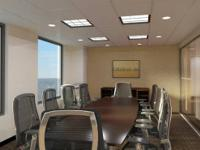 CONFERENCE ROOMS WITH A VIEW OF THE CITY !!  Plan to
