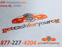 Get Cash For Your Car in New Jersey  We buy cars
