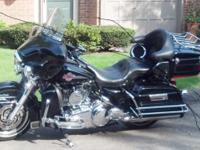 2007 Harley Davidson FLHTCU Electra Glide Ultra