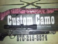 Here at CUSTOM CAMO we offer a grate price on camoing.