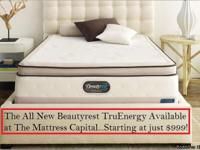 Come in to the Mattress Capital and lay on one of our