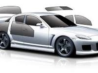 See Mo Car has the Jaguar Window Tint Cutting machine,