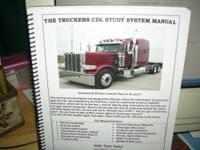 TRUCKERS CDL STUDY MANUAL GET YOUR CDL LIC FIRST TIME