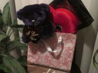 Large Jewelry Box. Box of Valentines Day Chocolates