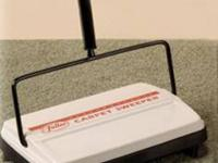 Electrostatic Carpet Sweeper The Mighty Mini! Use it