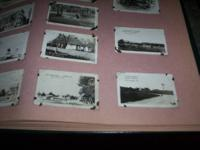 The Gettysburg pics are small,not postcards no place