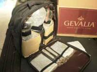 Gevalia Kaffe picnic backpack - stainless steel thermos