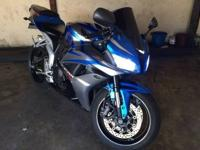 I have for sale a 2007 honda 600RR in blue/white with
