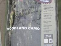 Mil-Spec Blackwater Paintball 2XL woodland camo 5 piece