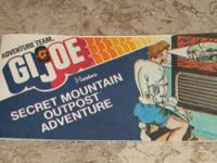 GI Joe Comic Book 20 pages Adventure Team 8040 Hasbro