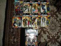 I have for sale a collection of gi joe and star wars