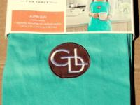 Giada De Laurentiis Full Kitchen Apron Color: Blue