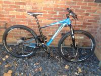 Giant Anthem x 29er.  $1600 this bicycle is a great