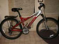 2006 Giant Boulder SE hardtail. Comes with men's ergo