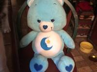 Large sleepy time/bed time care bear. He's in perfect