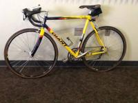 Giant cfr Team Composite Road bike 57cm. This bike is