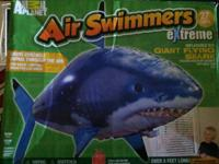 Animal Planet- Air swimmers severe giant flying shark.
