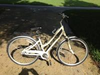Outstanding condition, fresh, lady's bicycle. MSRP new