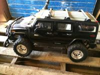 Giant Hummer Car. At once was a remote control but only