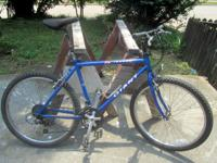 I have a 1990s 21-speed Giant Iguana mountain bike for
