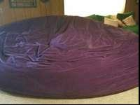 We have a huge purple beanbag we are planning to offer.