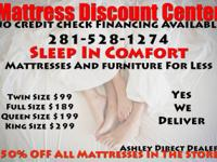 UP TP 50% OFF ALL MATTRESSES IN THE STORE   GREAT
