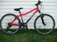 "Giant Rock mtb. 16"" Frame.  Visit our Facebook web"