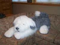 Brand New! GIANT Old English Sheep Dog. Kids love