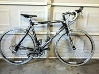 This bike is a 2004 Giant TCR composite 0 Road Bike