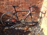 Giant TCR SL 2 equipped with Shimano 105 Components and