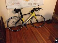 2008 GIANT Trinity A1 Triathlon Road Bike. This bike is