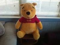 giant size winnie the pooh plush toy. JUST ADDED: Since