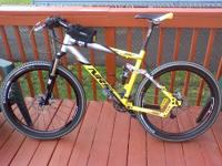 My Giant XtC NRS-1 Full Suspension Mountain bike was