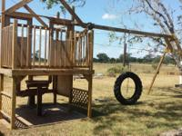 This swing set was developed by myself for my 2 kids on
