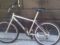 I am selling a Giant Mountain Bike. New tires. Older