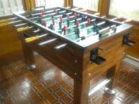 Gibraltar Deluxe foosball table in excellent condition.