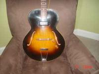1953 Gibson ES 125 in good shape. No cracks or repairs.