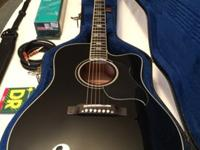 Gibson Acoustic Dove Performer Guitar- Bundle -