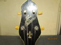 this is a nice playable Gibson cb-4 late 1919 with