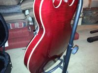2005 Gibson ES 335 for sale. Wine color flame top.
