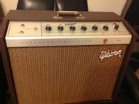 I have a Gibson GA-18t Explorer Amp (Crestline) in very