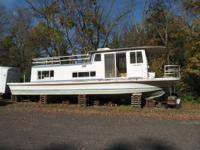 Gibson residence watercraft HOUSEBOAT 1972 located in