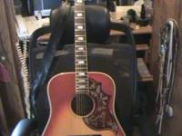 For sale 1 Gibson Hummingbird Guitar I bought new in