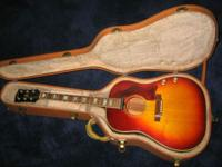 Beatles' era Gibson J-160E in fantastic, incredible