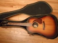 Gibson J25 ASB 1983 Tobacco Burst Mega rare Acoustic